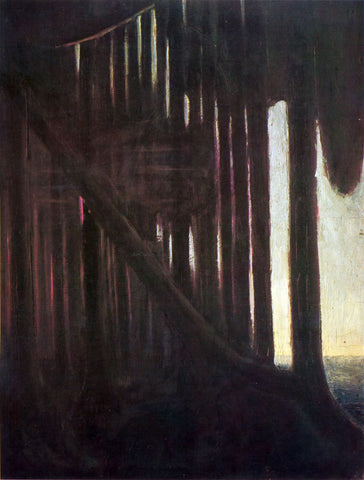 Mikalojus Ciurlionis Rustle of the Forest - Hand Painted Oil Painting