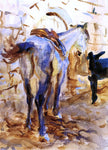 John Singer Sargent Saddle Horse, Palestine - Hand Painted Oil Painting