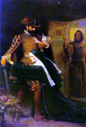 Sir Everett Millais Saint Bartholomew's Day - Hand Painted Oil Painting
