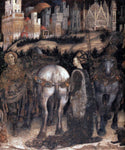 Antonio Pisanello Saint George and the Princess of Trebizond (detail) - Hand Painted Oil Painting