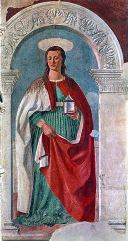 Piero Della Francesca Saint Mary Magdalen - Hand Painted Oil Painting