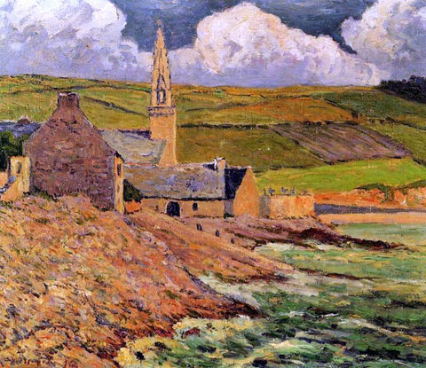 Maxime Maufra Saint Michel's Church - Hand Painted Oil Painting