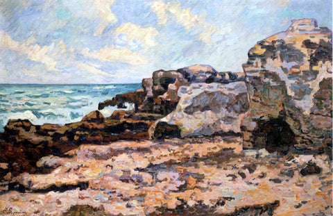 Armand Guillaumin At Saint Palais - Hand Painted Oil Painting