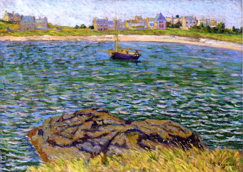 Paul Signac Saint-Brac, Le Bechet - Hand Painted Oil Painting