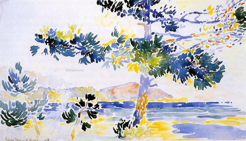 Henri Edmond Cross Saint-Clair Landscape - Hand Painted Oil Painting
