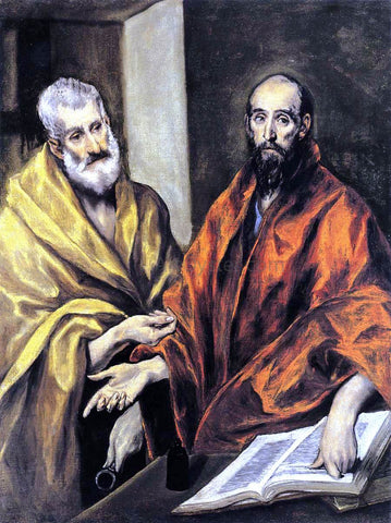 El Greco Saints Peter and Paul - Hand Painted Oil Painting