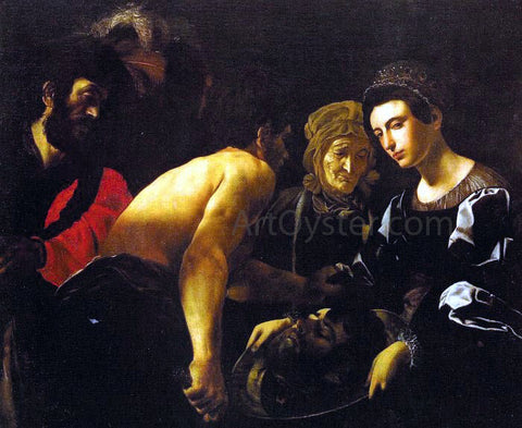 Giovanni Battista Caracciolo Salome - Hand Painted Oil Painting