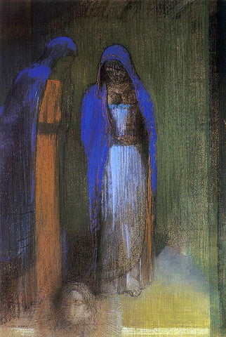 Odilon Redon Salome - Hand Painted Oil Painting