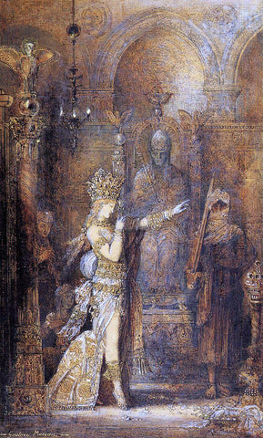 Gustave Moreau Salome Dancing - Hand Painted Oil Painting