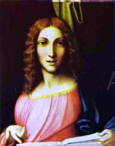 Correggio Salvator Mundi - Hand Painted Oil Painting
