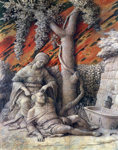 Andrea Mantegna Samson and Delilah - Hand Painted Oil Painting