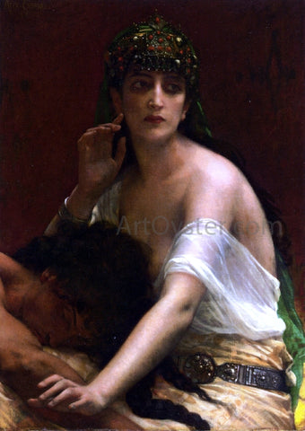 Alexandre Cabanel Samson and Delilah - Hand Painted Oil Painting