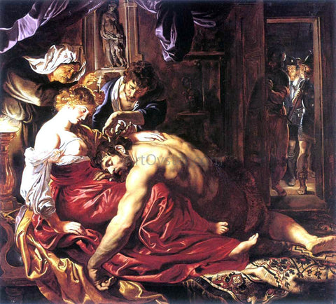 Peter Paul Rubens Samson and Delilah - Hand Painted Oil Painting