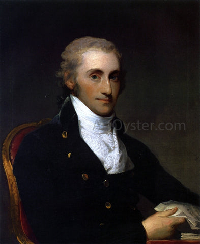 Gilbert Stuart Samuel Gatliff - Hand Painted Oil Painting