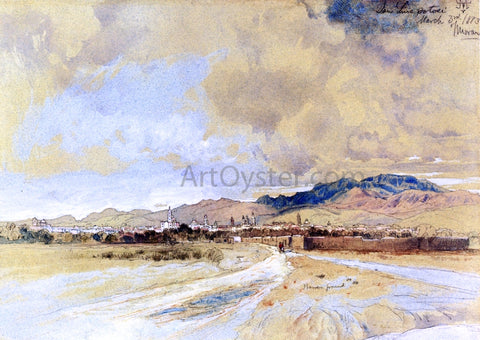Thomas Moran San Luis Postosi - Hand Painted Oil Painting