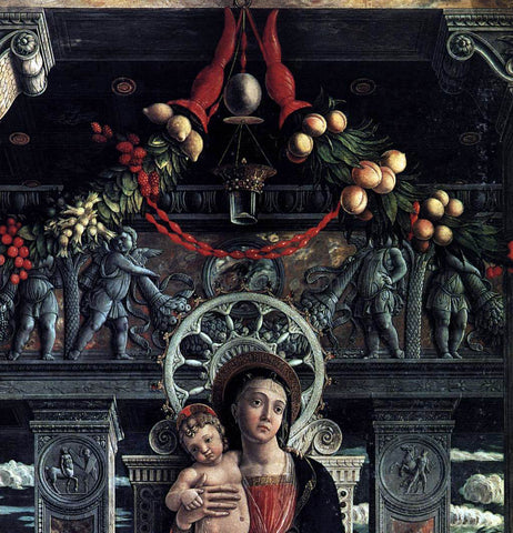 Andrea Mantegna San Zeno Polyptych (detail) - Hand Painted Oil Painting