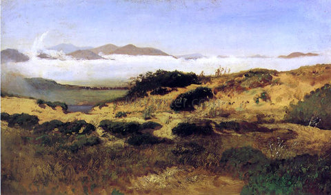 William Keith Sand Dunes and Fog, San Francisco - Hand Painted Oil Painting
