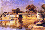 Edwin Lord Weeks Sarkeh, Ahmedabad, India - Hand Painted Oil Painting