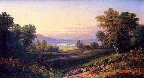 Henry Boese Scene near the Cherry Valley Mountains - Hand Painted Oil Painting