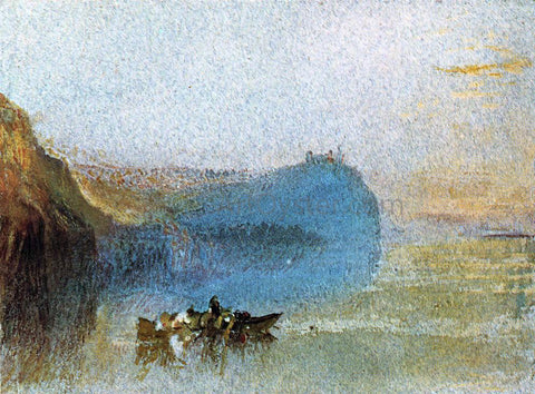 Joseph William Turner Scene on the Loire - Hand Painted Oil Painting