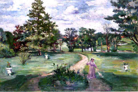 Lovis Corinth Schlosspark - Hand Painted Oil Painting