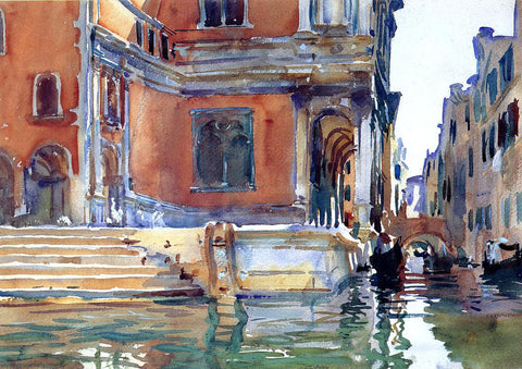 John Singer Sargent Scuola di San Rocco - Hand Painted Oil Painting