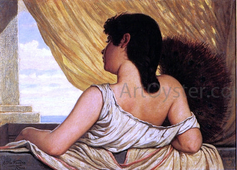 Elihu Vedder Sea Breeze - Hand Painted Oil Painting