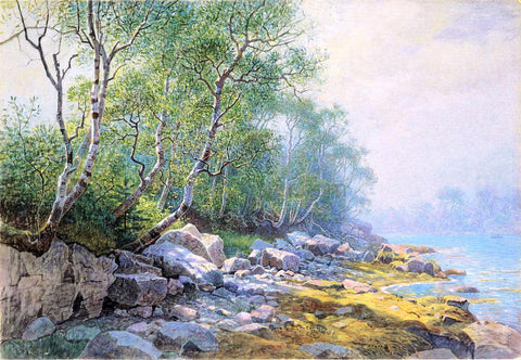 William Stanley Haseltine Seal Harbor, Mount Desert, Maine - Hand Painted Oil Painting