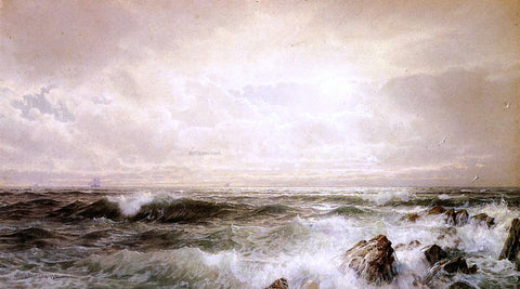 William Trost Richards Seascape - Hand Painted Oil Painting