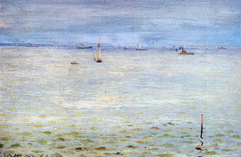 William Merritt Chase Seascape - Hand Painted Oil Painting