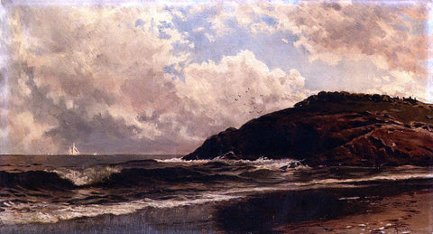 Alfred Thompson Bricher Seascape, Coast of Maine - Hand Painted Oil Painting