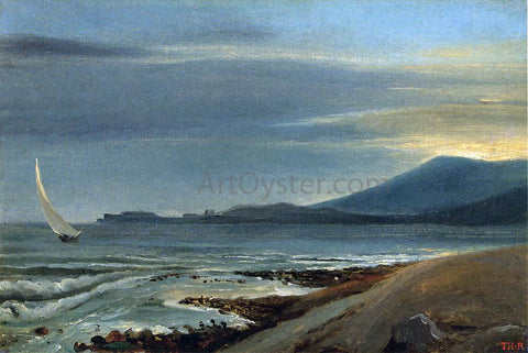 Theodore Rousseau Seascape - Hand Painted Oil Painting