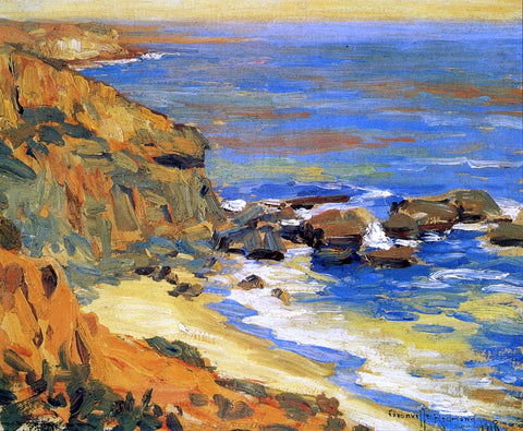 Granville Redmond A Seascape Study - Hand Painted Oil Painting