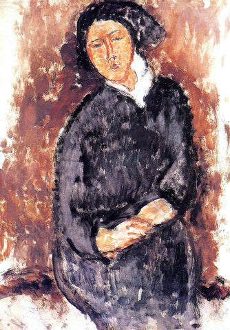 Amedeo Modigliani Seated Woman - Hand Painted Oil Painting