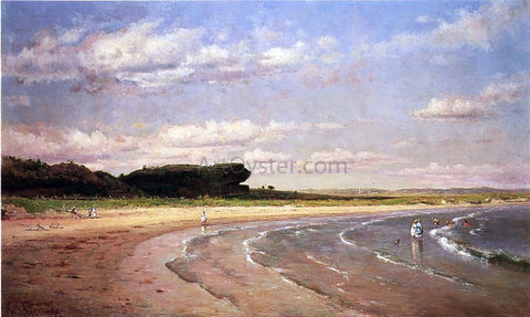 Thomas Worthington Whittredge Second Beach - Hand Painted Oil Painting