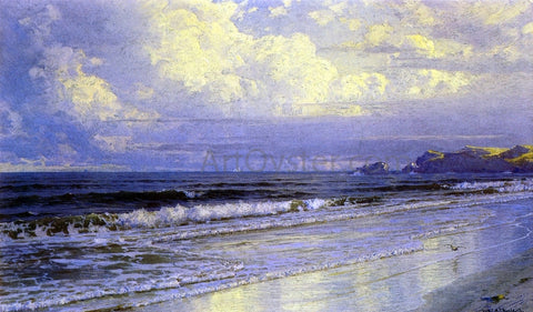 William Trost Richards Second Beach, Newport - Hand Painted Oil Painting