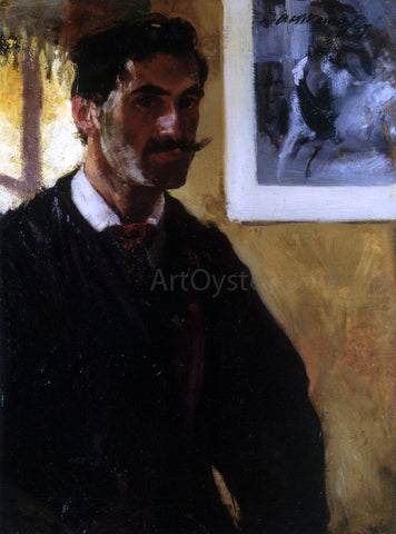 Alfred Henry Maurer Self Portrait - Hand Painted Oil Painting