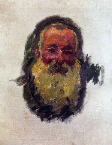 Claude Oscar Monet Self Portrait - Hand Painted Oil Painting