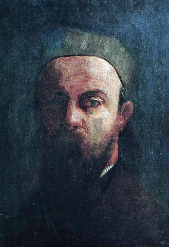 Odilon Redon Self Portrait - Hand Painted Oil Painting