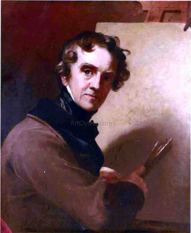 Thomas Sully Self Portrait - Hand Painted Oil Painting