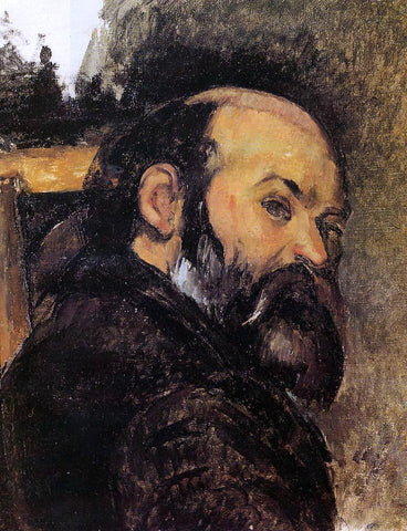 Paul Cezanne Self Portrait - Hand Painted Oil Painting