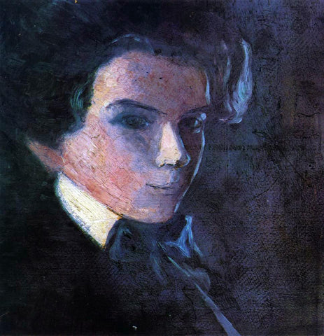 Egon Schiele Self Portrait, Facing Right - Hand Painted Oil Painting