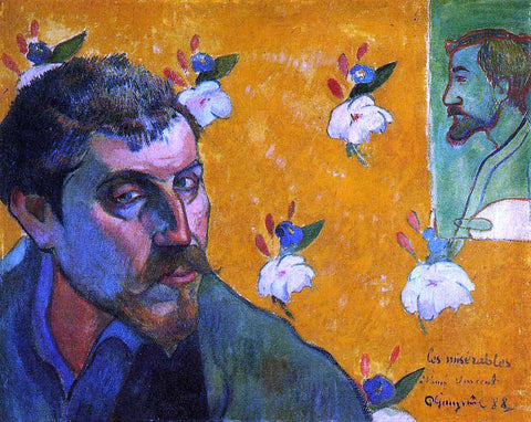 Paul Gauguin Self Portrait, Les Miserables - Hand Painted Oil Painting
