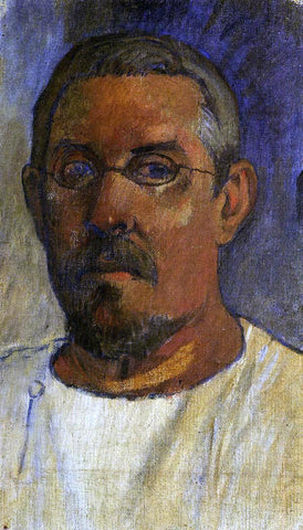 Paul Gauguin Self Portrait with Spectacles - Hand Painted Oil Painting