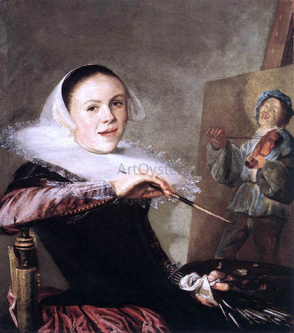 Judith Leyster Self-Portrait - Hand Painted Oil Painting