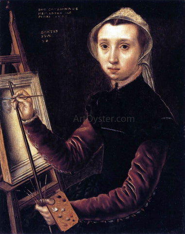 Catharina Van Hemessen Self-Portrait - Hand Painted Oil Painting