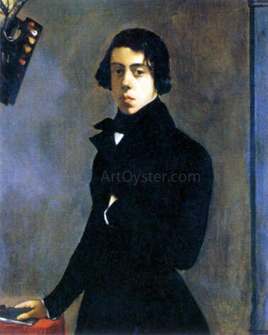 Theodore Chasseriau Self-Portrait - Hand Painted Oil Painting