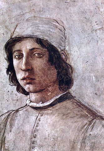 Filippino Lippi Self-Portrait (detail) - Hand Painted Oil Painting