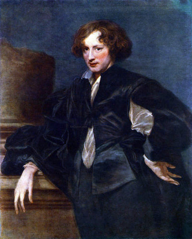 Sir Antony Van Dyck Self-Portrait - Hand Painted Oil Painting