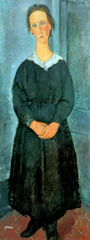 Amedeo Modigliani Servant Girl - Hand Painted Oil Painting